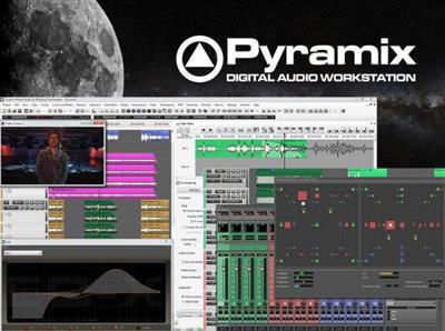 Picture of PYRAMIX - Software Pack 64 bit - NATIVE STANDARD